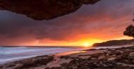 海上晚霞风景图片(9张)