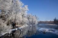 唯美的雾淞风景图片(10张)