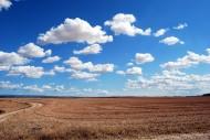 一望无垠的蓝天白云图片(10张)