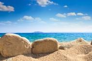 大海边的岩石风景图片(17张)