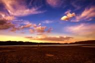 唯美黄昏夕阳风景图片(9张)