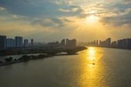 唯美的日落图片(9张)