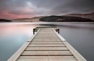 湖中的木桥图片(24张)