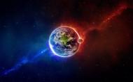 星空中的月亮和宇宙中的月球图片(16张)