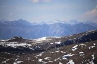 连绵的雪山风景图片(9张)