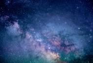 繁星点点的夜空图片(15张)