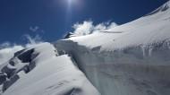 山上的雪景图片(10张)