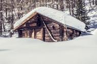 洁白无瑕的雪景图片(10张)