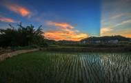乡村的山水田园风景图片(10张)