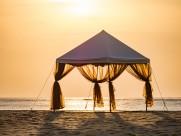 海边浪漫的帐篷图片(17张)