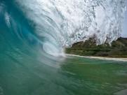 大海中的海浪图片(12张)