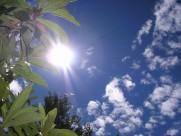 蓝天白云阳光图片(14张)