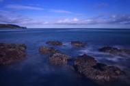 大海里的礁石图片(7张)