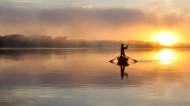 黄昏自然美景图片(11张)