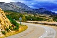 高山道路风景图片(8张)
