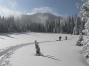 白茫茫的雪景图片(10张)