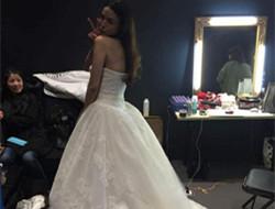 舒淇受结婚新闻刺激恨嫁 晒白色婚纱照遭网友催婚