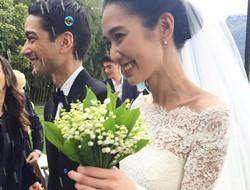 日本超模冈本多绪和主编男友Tenzin Wild低调完婚