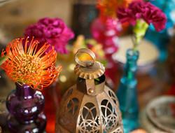 缤纷多彩的波西米亚风主题婚礼图片