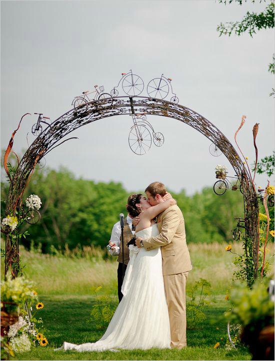 自行车主题婚礼,单车婚礼,主题婚礼现场布置