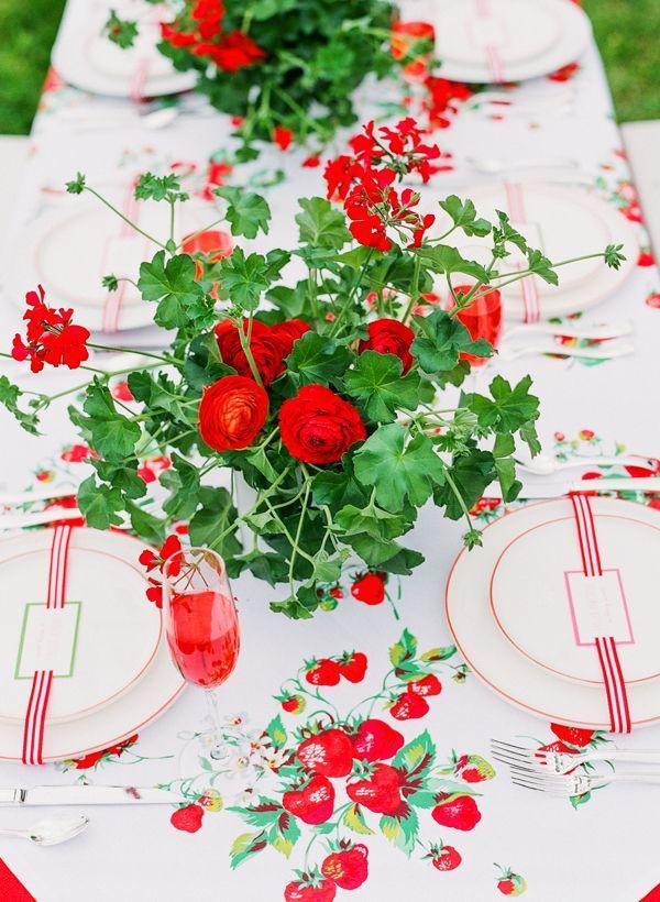 草莓主题婚礼,主题婚礼布置