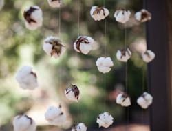 冬日暖暖爱意 棉花主题婚礼
