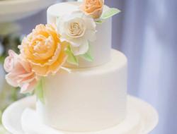 婚礼蛋糕 清新婚礼蛋糕图片