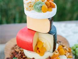 浪漫温馨的婚礼裸蛋糕
