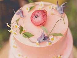 浪漫婚礼蛋糕 奶油蛋糕