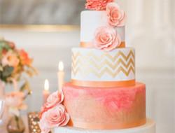 婚礼上的蛋糕图片 浪漫蛋糕