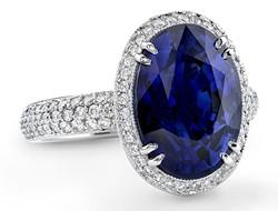 彩色钻石戒指 不一样的钻戒