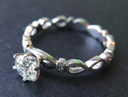 复古钻戒系列 女王的戒指