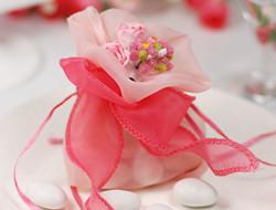 手工布袋式喜糖礼盒 特别的礼盒