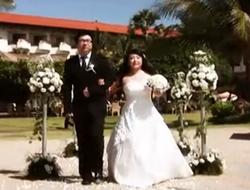 海外婚礼视频——巴厘岛美乐滋教堂(Mirage)沙滩婚礼