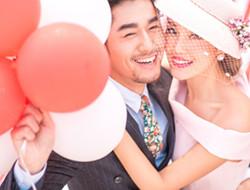 简约幸福 粉色气球之恋