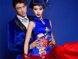蓝绣之恋 时尚旗袍秀