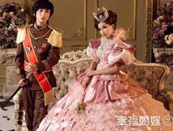 经典皇室婚纱照 王子与公主的故事