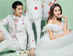 迪士尼童话爱情 时尚婚纱照