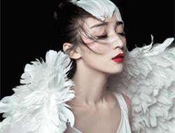 唯美天使写真 黑白色调