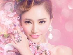 粉红甜美公主 花枝女孩
