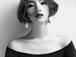 黑白色调 黑白色女郎写真
