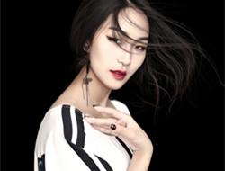 黑白色调 时尚女郎写真
