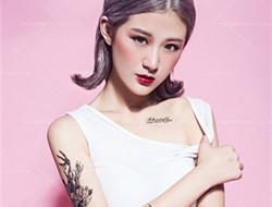 纹身女郎时尚写真