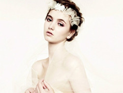 充满异国风情的新娘发型
