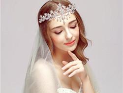 典雅新娘发型头饰 做最浪漫新娘