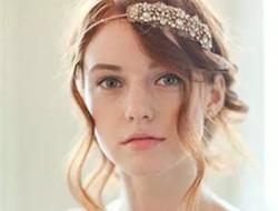 这些头饰让新娘发型更美
