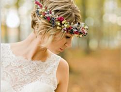短发新娘也可以性感和可爱