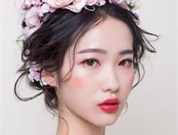 梦幻新娘发型 花系发型