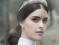 仙气十足的唯美新娘发型