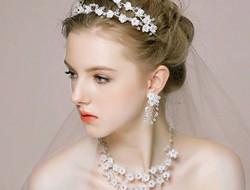 高端手工欧式浪漫新娘发型